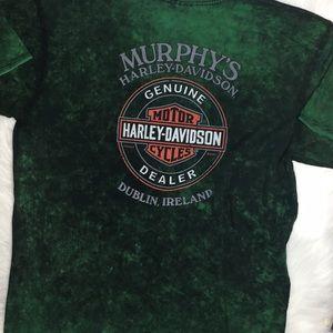 harley davidson ireland genuine dealer t shirt XXL